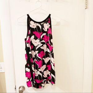 Vince Camuto women's TJ-Flower wave halter blouse